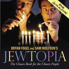 Jewtopia: The Chosen Book for the Chosen People by Bryan Fogel http://www.amazon.com/dp/0446579548/ref=cm_sw_r_pi_dp_.jdLub1EY2K73