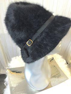 98e89869d1404 Kangol Furgora Hat Made In England Black Angora