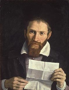 Annibale Carracci   Portrait of Monsignor Agucchi   L990   The National Gallery, London