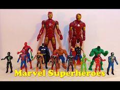 Marvel Superheroes Avengers Collection   Iron man, Spiderman, Batman, Th...