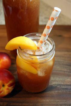 Peach Tea 3 Homemade Peach Tea