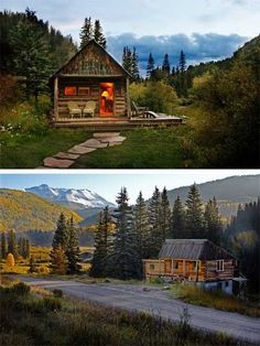 Dunton Hot Springs Resort is a romantic ghost town, set in an extraordinary alpine valley- picture-perfect cabins!