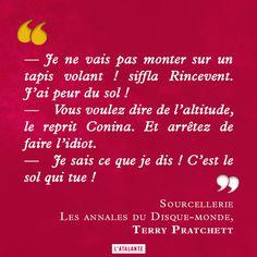 Sourcellerie, Les annales du DisqueMonde de Terry Pratchett #quote #citation #DisqueMonde #book #discworld