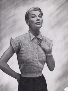 1950's Knitting & Crochet - Glittering New Fashions