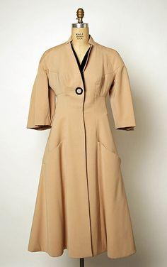 Coat | Charles James (1906-1978) | United States, 1952 | The Metropolitan Museum of Art, New York