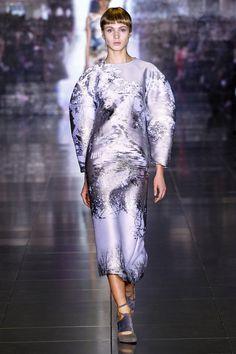 London Fashion Week: Mary Katrantzou. Fall/Winter 2013/2014