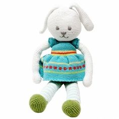 Sweet chrocheted bunny by Pebble from Bangladesh.