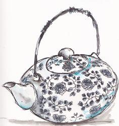 a lovely tea pot... http://traceyfletcherking.blogspot.com.au/