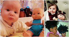 Crianças que parecem com suas bonecas!!