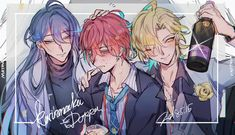 Manga Anime, Anime Art, Chibi, Zombie Vampire, Hot Anime Guys, Anime Boys, Otaku, Male Eyes, Rap Battle