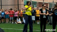 Trending GIF dancing michelle obama getting down