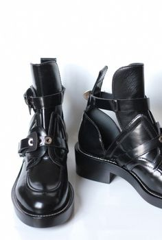 Balenciaga Cut Out Boots - I want to wear with EVERYTHING