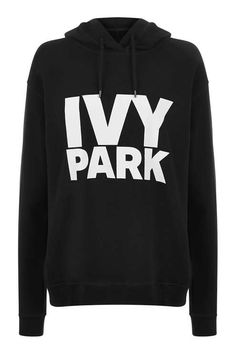 Ivy Park Logo Pullover Hoodie by Ivy Park - Clothing- Topshop
