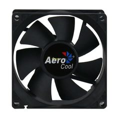 Aerocool Dark Force Ventola da 80mm Full Black dissipatore 8cm cabinet fan case