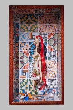 #30 Filomena #handmade #dancing #freaky #dolls #independent #arts #label #2015 #fashion #milan #flowers