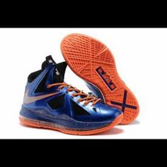 low priced 912c0 ef85c Nike Shoes   Nike Lebron James Basketball Shoes   Color  Blue Orange    Size  6b