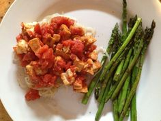 Chicken Cacciatore with Miracle Noodles - hcg diet recipe