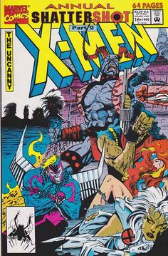"The Uncanny Xmen Annual #16 Near Mint $5.00 ~ Shattershot, pt. 2   ""The Masters of Inevitability"""