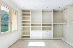 Simple Walk In Closet Design Dressing Rooms 33 Ideas For 2019 Closet Walk-in, White Closet, Build A Closet, Closet Shelves, Closet Ideas, Walk In Closet Design, Closet Designs, Wardrobe Design, Diy Walk In Closet