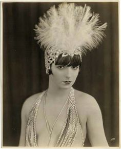 "Louise Brooks in her 1st credited role ' The American Venus "" c. 1926"