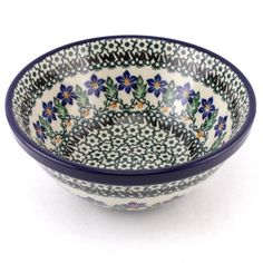 New piece in our store. And bright new design probably too! Polish pottery from http://slavicapottery.com