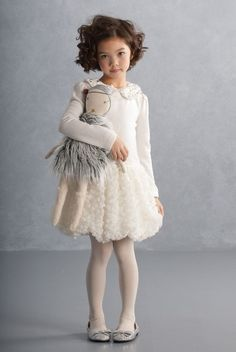 This beautiful dress by Kate Mack clothing is to die for! via @deuxpardeuxKIDS