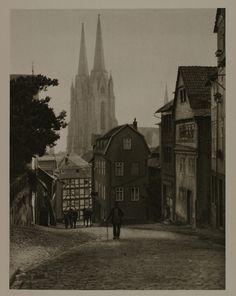 Marburg on the Lahn - Germany, 1929.