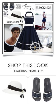 """ONE DRESS ONE MOOD (Contest with prizes sponsored by GAMISS.COM- WIN 20$)"" by ewa-naukowicz-wojcik ❤ liked on Polyvore featuring Tommy Hilfiger"