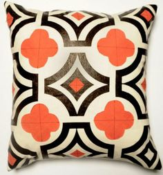 black and orange country modern decor - Google Search