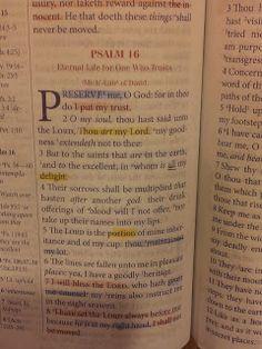 The Talbert Report: Psalm 16