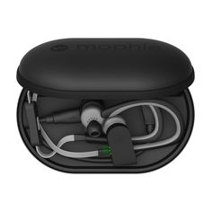 power capsule -- a built-in 1,400mAh battery, this compact travel case keeps your wireless in-ear headphones, fitness trackers or other wearables charged and protected while safely packed away so they're ready for whatever is next. $39