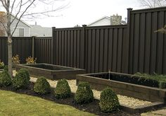 Trex seclusions fence for privacy and beauty.