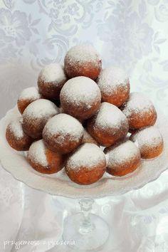 Przyjemność z pieczenia: Mini pączki serowe Doughnuts, Hamburger, Muffin, Baking, Breakfast, Recipes, Wax, Brot, Essen