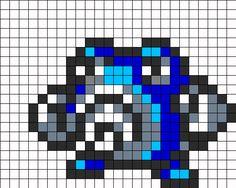 Poliwhirl Perler Bead Pattern / Bead Sprite