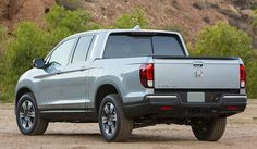 Atheletic Honda Ridgeline Makes its First Appearance at Detroit Auto Show