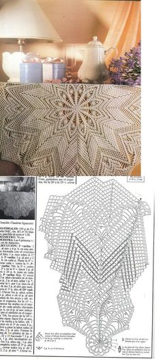 Kira crochet: Crocheted scheme no. 760