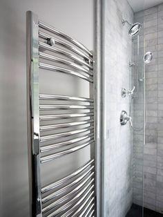 Love the heated towel rack