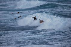Surfer and Great White Shark by zoar22, via Flickr