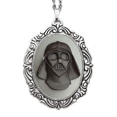 Fab.com   Darth Necklace Black Gray--Subtle Geekery