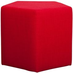 Pentagon Ottoman Dexter Ketchup | Click to shop now!