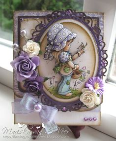 Whimsy Stamps - Rubber Stamps, Clear Stamps, and 3d Cards, Easel Cards, Pretty Cards, Cute Cards, Whimsy Stamps, Magnolia Stamps, Beautiful Handmade Cards, Marianne Design, Kirigami