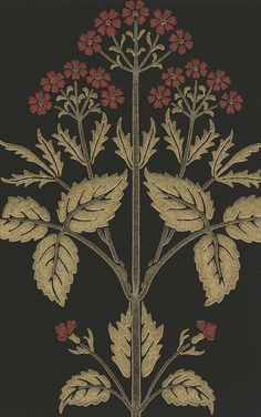 MORRIS & Co. ARCHIVE WALLPAPERS Meadow Sweet / 210352