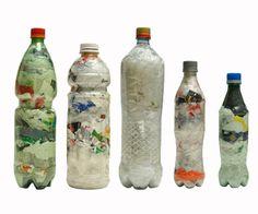 bottles bricks