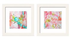 Title: Jewels & Linx This listing is for a set (2 prints) of the abstract prints, Jewels & Linx. Elegant and sophisticated, these prints would be perfect in so many settings! Shown framed, listing is for artworks only. Frame is not included. Originals have been sold.  Fine art print on archival paper. I offer several sizes. Just make the selection above. 2-10x10 = $98 2-12x12 = $120 2-16x16 = $150 Each print has a border to make framing easy. Your artwork ships well pro...