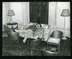 1955 ROCK HUDSON & BARBARA RUSH In Ireland Vintage
