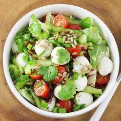 Mozzarella, Cobb Salad, Food, Essen, Meals, Yemek, Eten