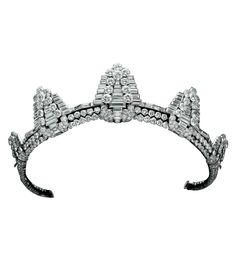 CARTIER Art Deco Diamond Tiara, circa 1930