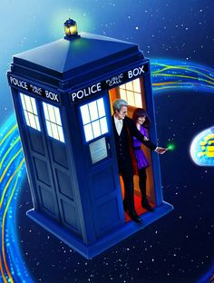 DOCTOR 12 AND CLARA OSWALD ' ENCOUNTER'.