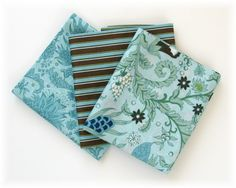 Tres Belle, Turquoise Floral  by BJ Lantz for Studio E Fabrics