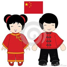 Illustration about China traditional costume on white background. Illustration of gold, people, child - 37764204 Cartoon Pics, Cartoon Characters, Good Shepard, Ideas Aniversario, Japanese Couple, China Art, China China, Costumes Around The World, Smile Images